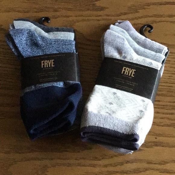 Frye Socks Ladies 6 pairs (2 3-packs) NEW